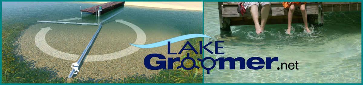 Lake Groomer Banner